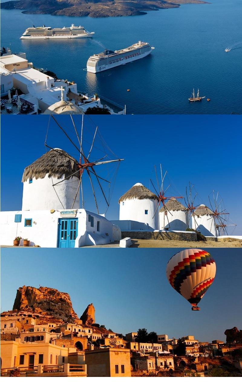 Paquete a grecia con crucero y turqu a con capadocia for Oficina de turismo de grecia